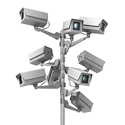 security cameras 250